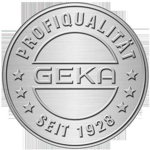 GEKA-Profiqualitäts-Plakette